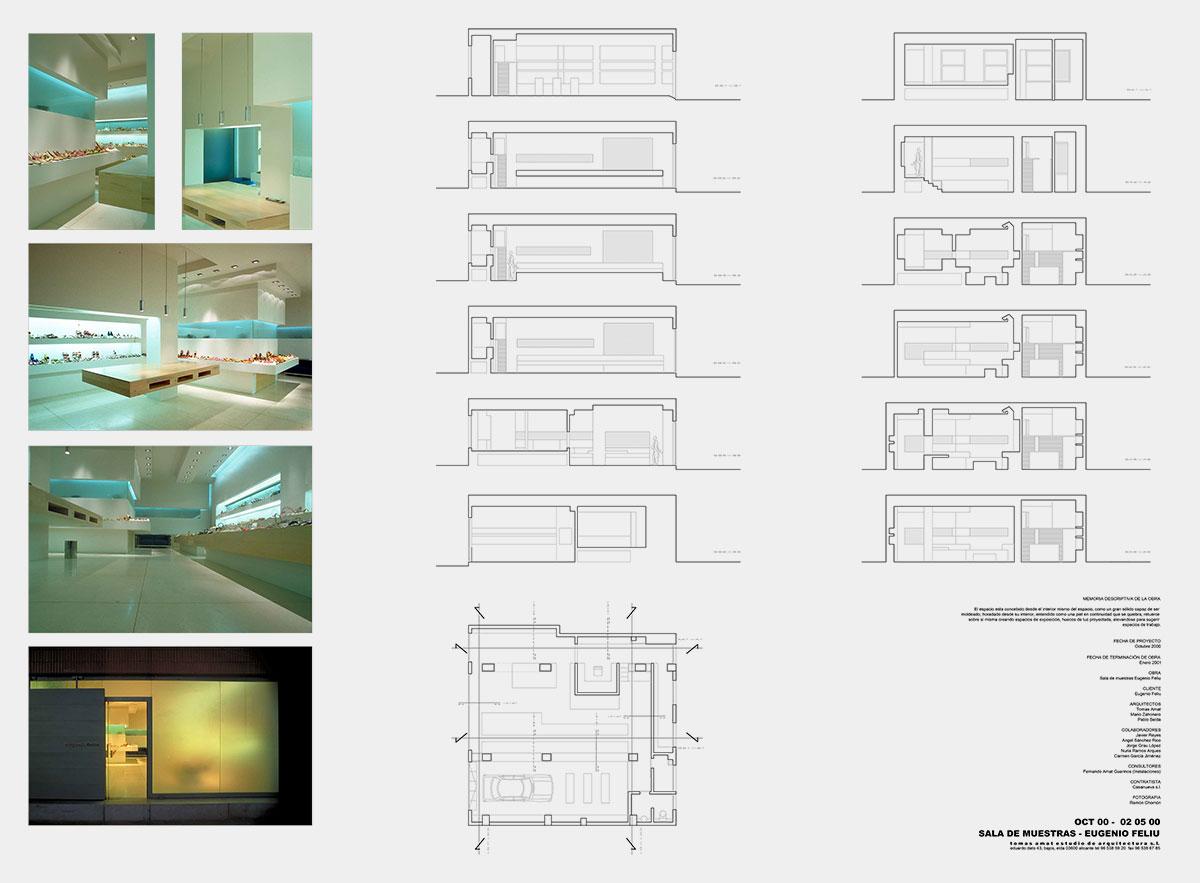 Proyecto arquitectónico con fotos y planos técnicosEugenio Feliú