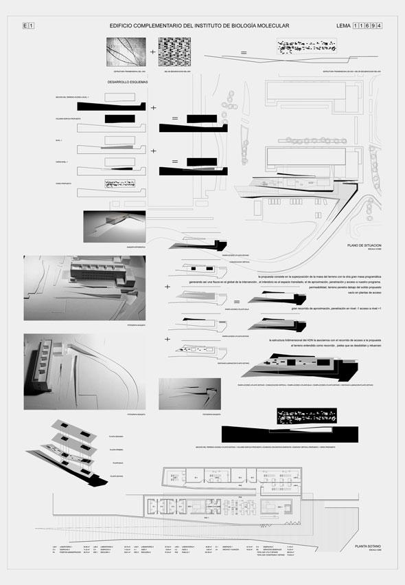 Concurso de arquitectura para el edificio biología molecular de la Universidad Miguel Hernández