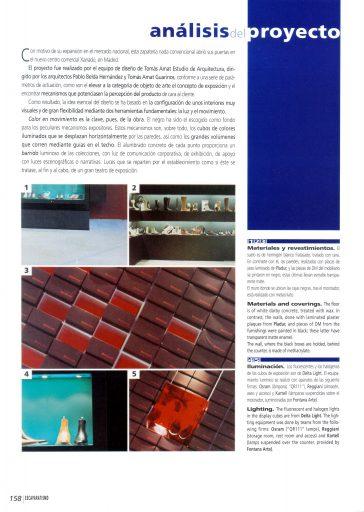 Revista Escaparatismo. Página 13