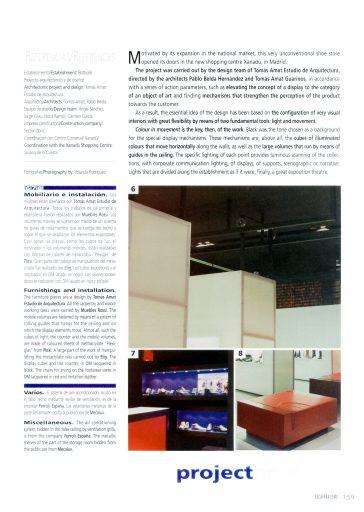 Revista Escaparatismo. Página 14