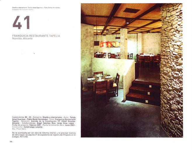 45 muestra de arquitectura de Alicante. Página 1