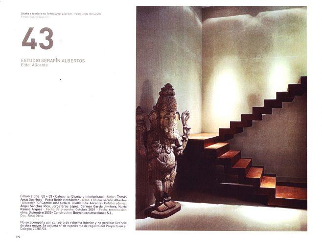 45 muestra de arquitectura de Alicante. Página 9