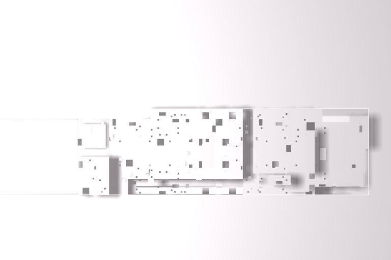 Proyecto de arquitectura plaza Mediterráneo