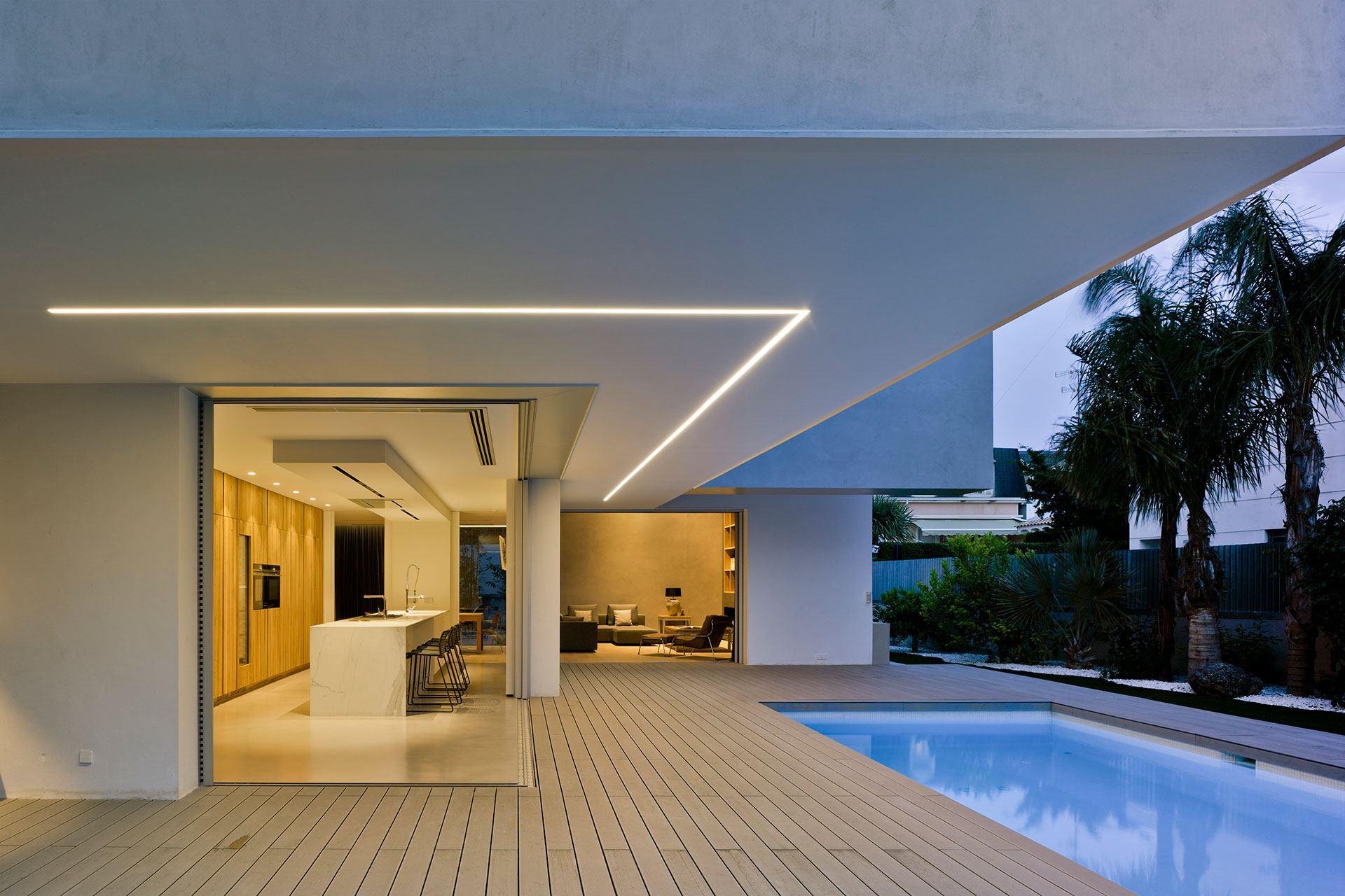 Proyecto arquitectónico vivienda unifamiliar en Alicante