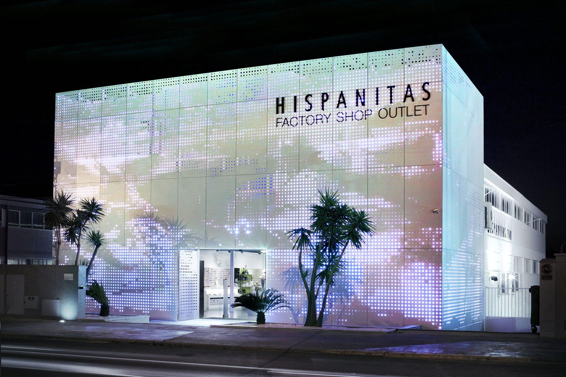 Proyecto arquitectónico para la fabrica de calzado Hispanitas en Petrer (Alicante)
