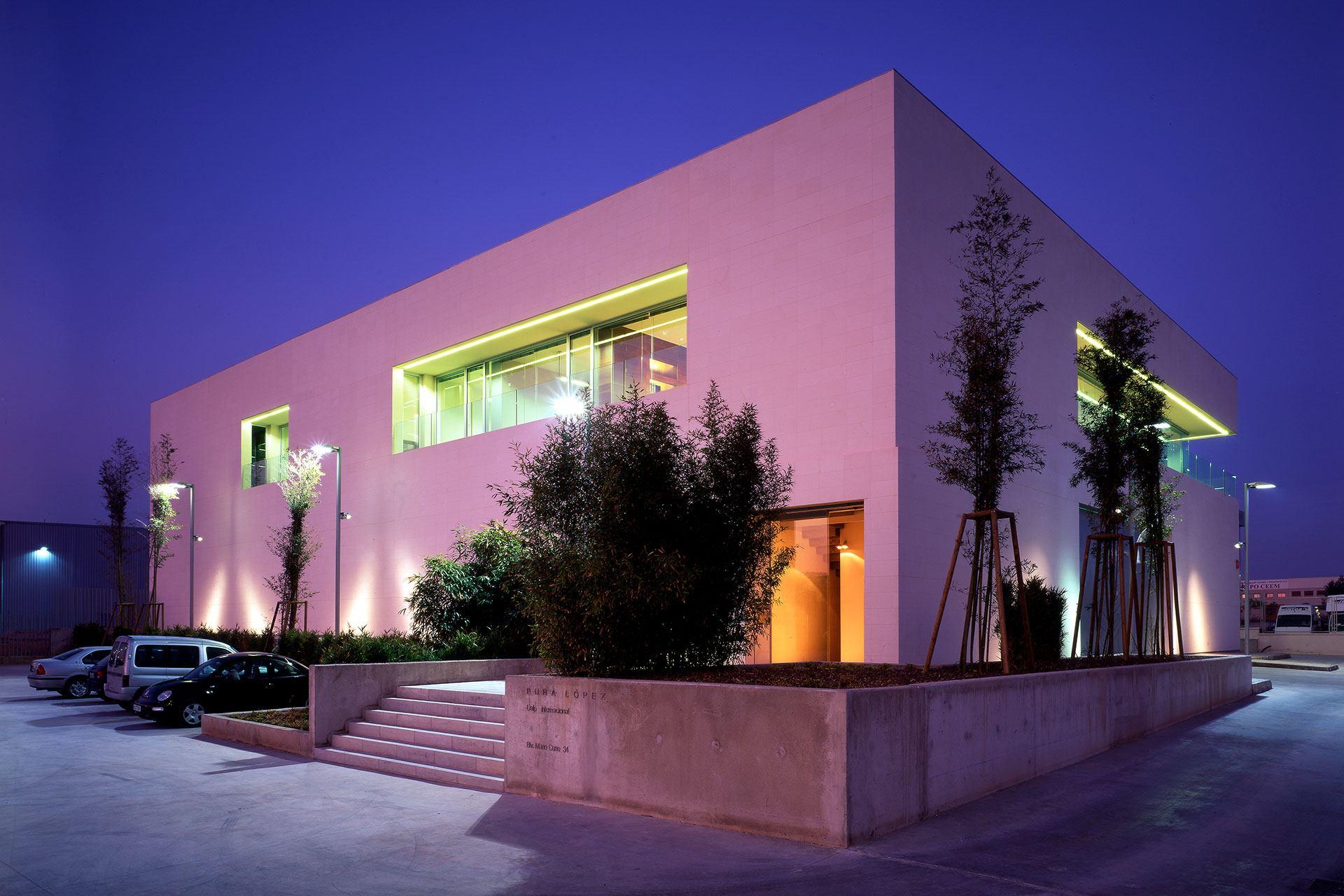 Proyecto de arquitectura para oficinas