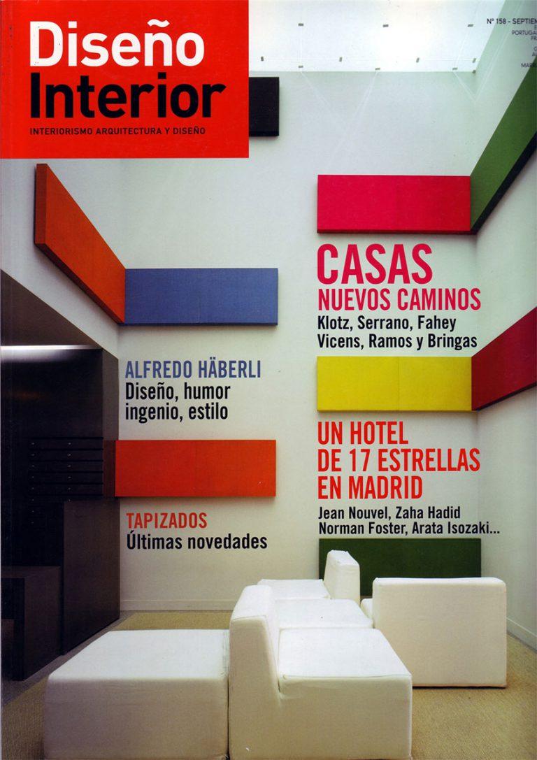 Portada de la publicación Diseño Interior número 158
