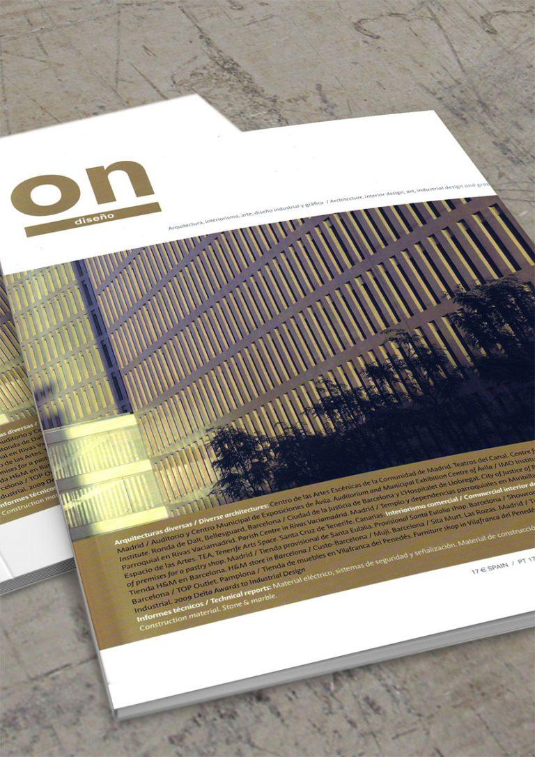 Portada de la revista On Diseño número 37
