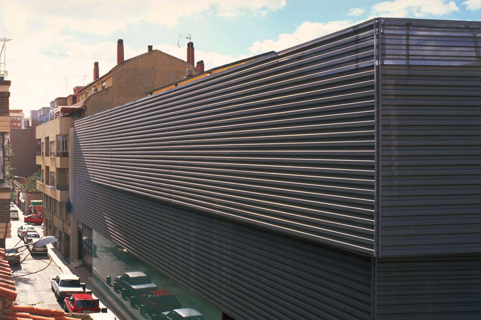 Proyecto arquitectura para almacén textil