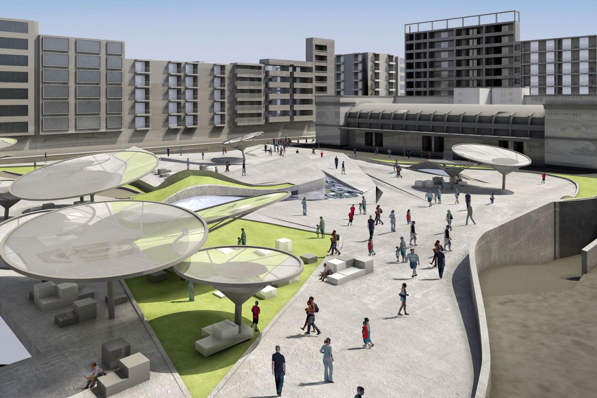 Proyecto plaza Séneca