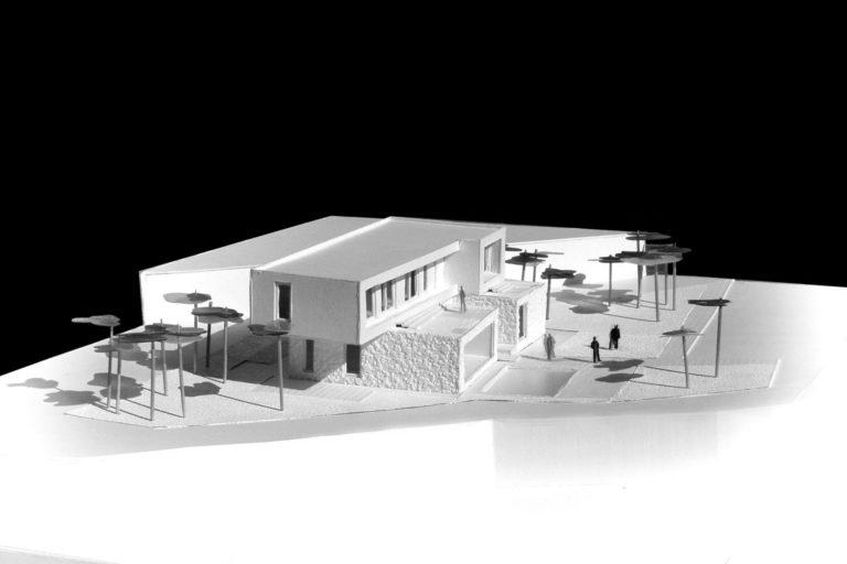 Maqueta proyecto arquitectónico en Aigües