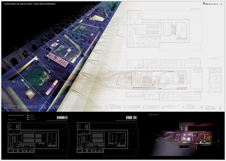 Concurso Casa Mediterráneo. Panel 2