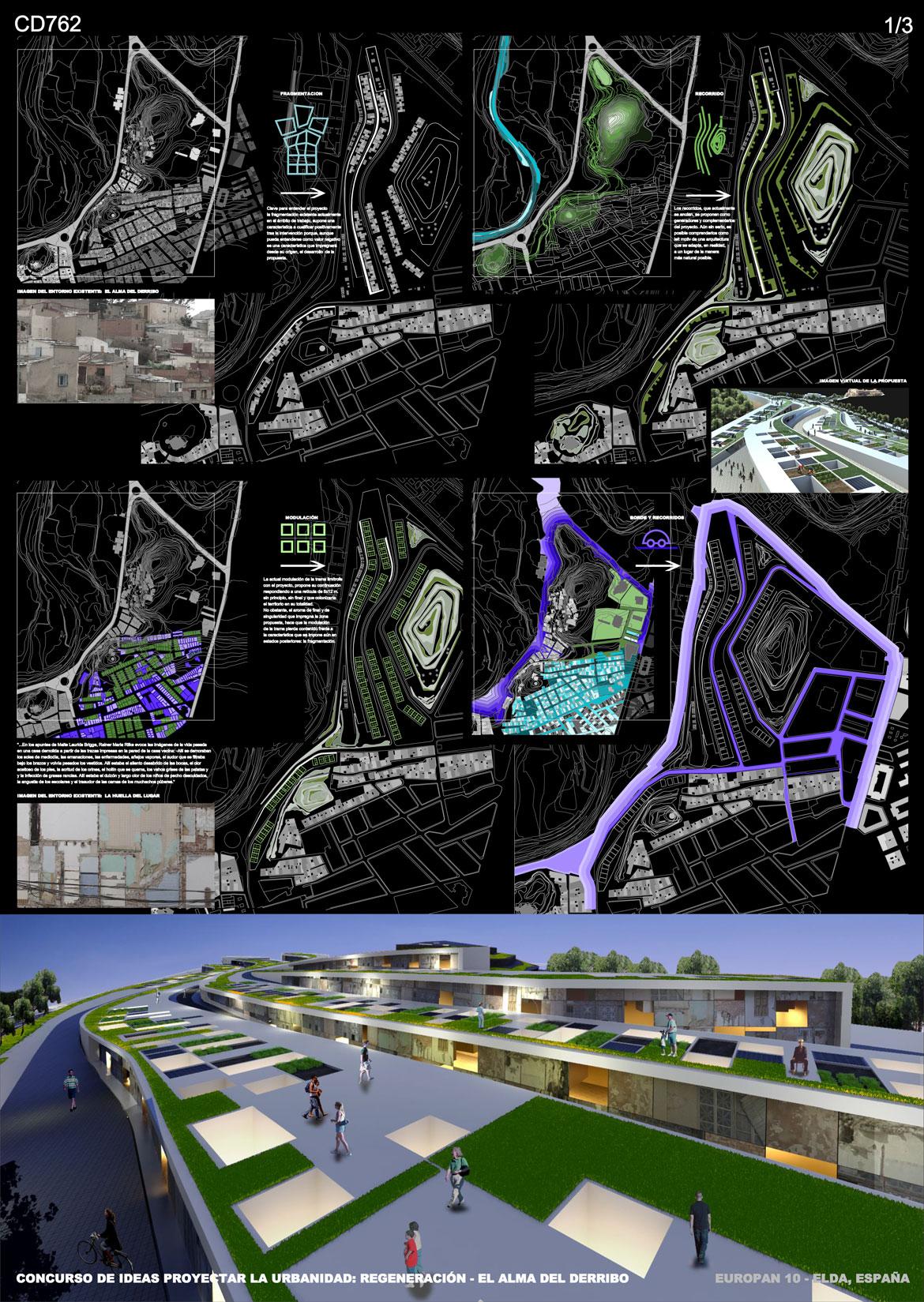 Concurso de ideas proyectar la urbanidad - Panel 1