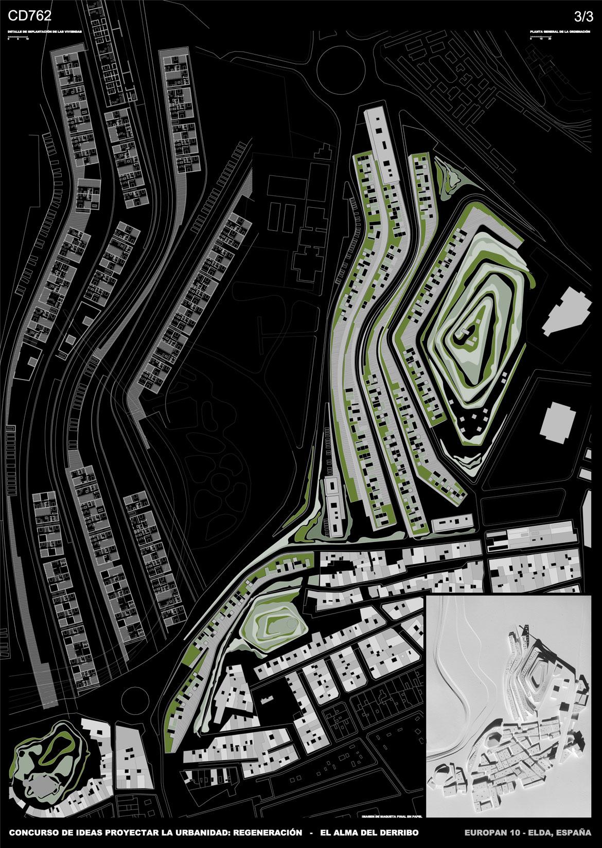 Concurso de ideas proyectar la urbanidad - Panel 3